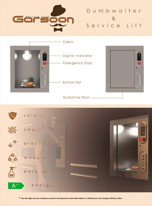 servis asansörü