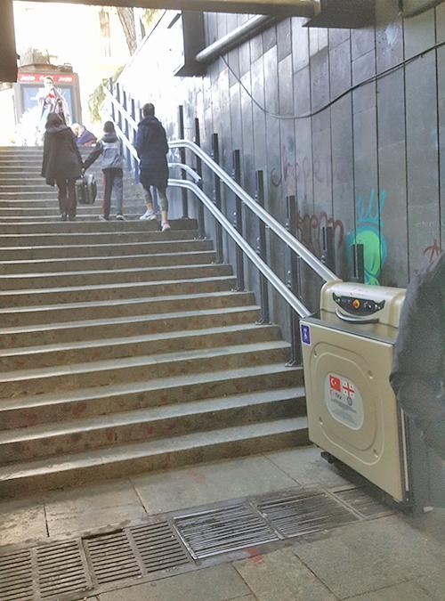 doru platform tipi engelli asansörü