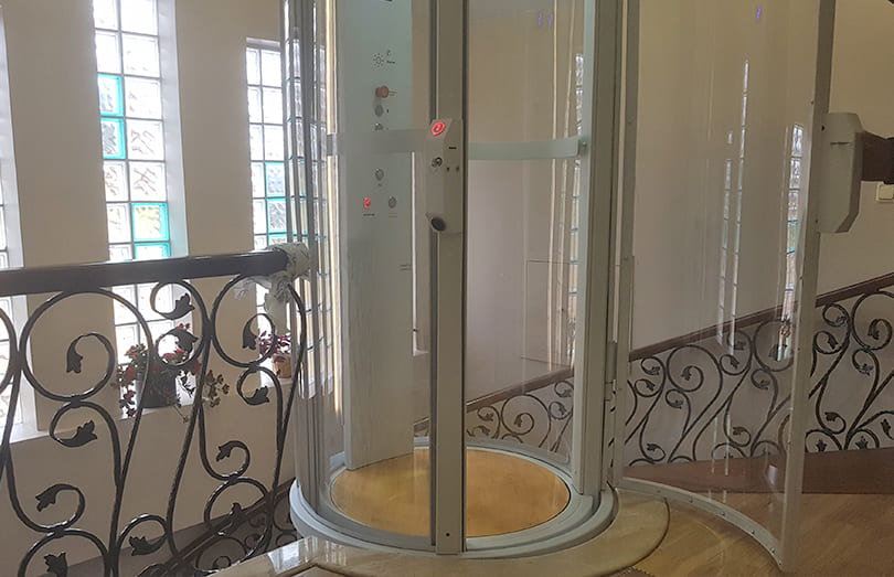 oval asansor