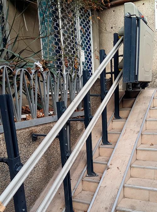 yula katlanabilir merdiven asansörü