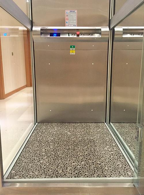 panoramik ev tipi asansör